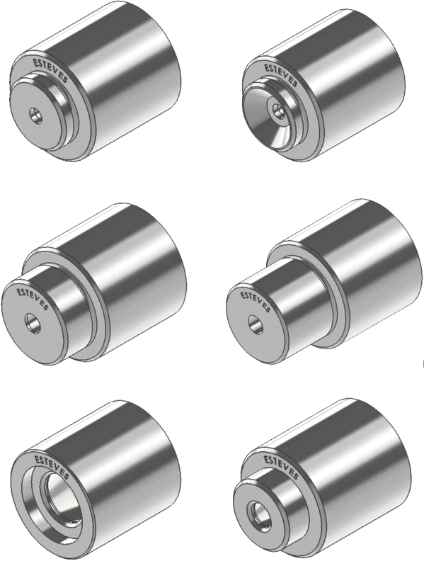 Esteves extrusion die examples