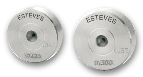 Esteves recut reposh and refurbished PCD SSCD ND and TC wire drawing die services